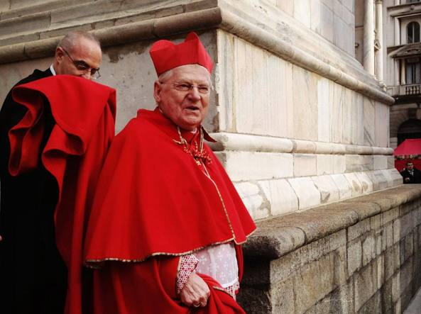 L'arcivescovo di Milano Angelo Scola